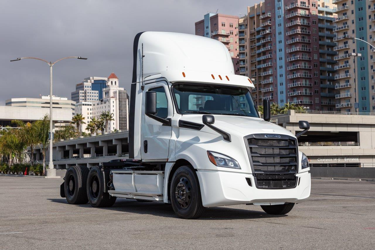 Electric Freightliner Cascadia